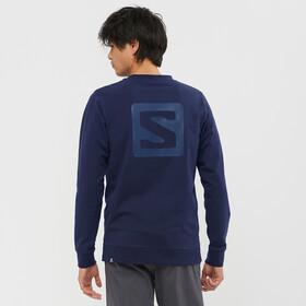Salomon Shift Crew Neck Pullover Herrer, blå